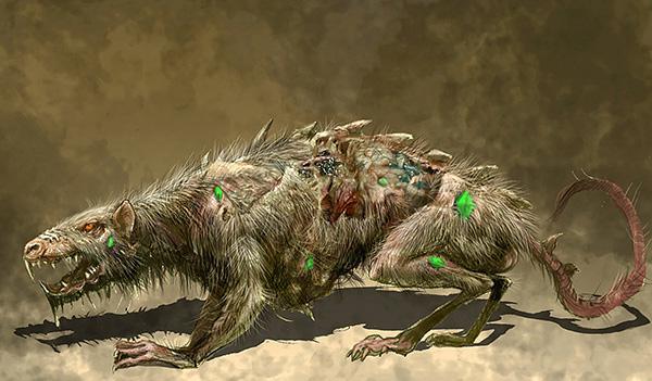 Так называемые крысы-мутанты являются частым объектом для художественного вымысла.