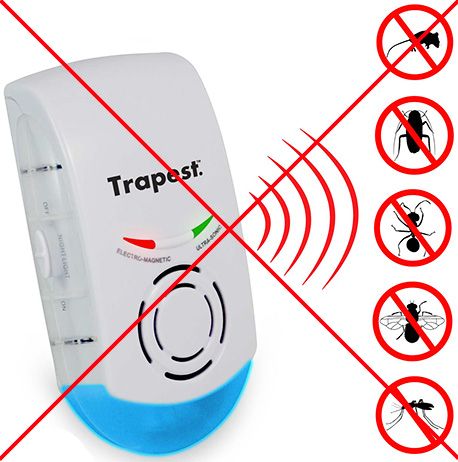 Так называемые электромагнитные или магнитно-резонансные отпугиватели на практике оказываются бесполезными как от грызунов, так и от насекомых.