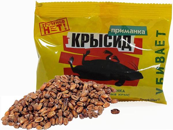 Зерновая приманка Крысид