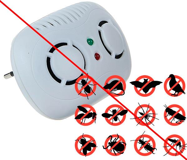Если производитель прибора обещает, что отпугиватель избавит вас не только от мышей и крыс в доме, но также и от насекомых, то целесообразность в покупке такого устройства сомнительна.