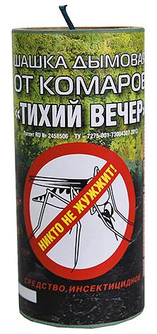 Дымовая шашка от комаров Тихий Вечер