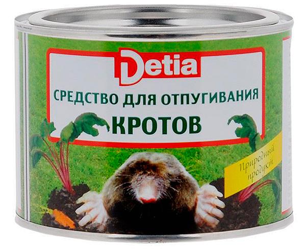 Шарики от кротов Detia (с запахом лаванды)