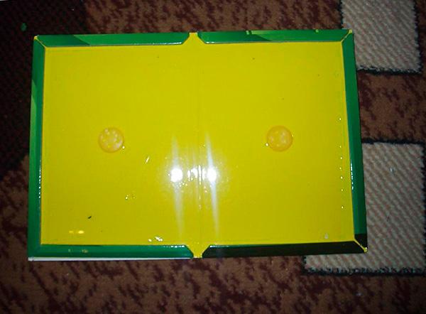 На фото показан пример клеевой ловушки для крыс и мышей в развернутом виде.