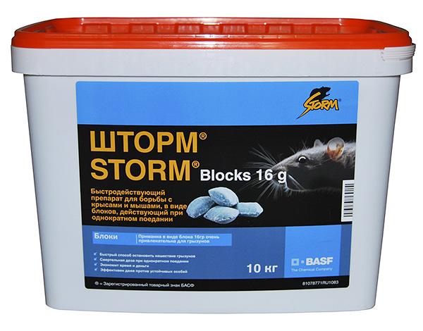 Средство для уничтожения крыс и мышей Шторм (Storm) - попробуем разобраться, насколько оно эффективно на практике...