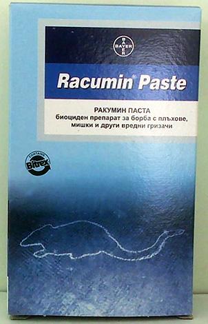 Паста Ракумин для борьбы с грызунами.