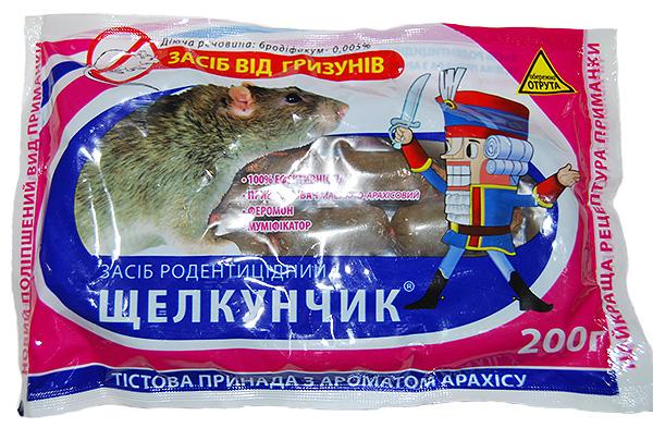 Отрава для крыс и мышей Щелкунчик.