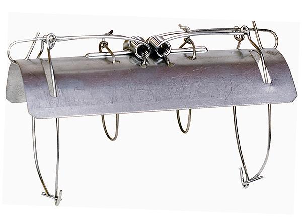 Тоннельная ловушка-капкан для кротов
