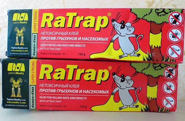 Клей против грызунов и насекомых RaTrap